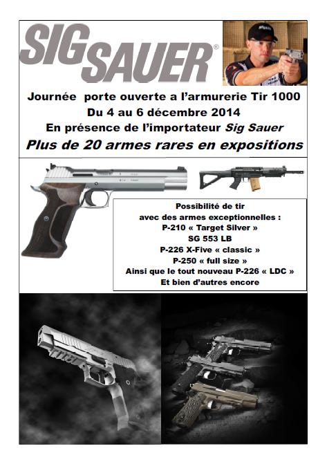 Expo et démo Sig Sauer chez Tir 1000 du 4 au 6 décembre Captur10
