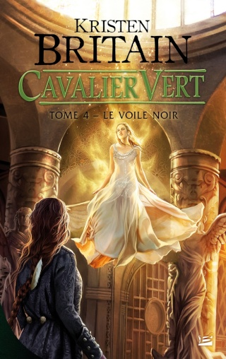 CAVALIER VERT (Tome 4) LE VOILE NOIR de Kristen Britain 1411-c10