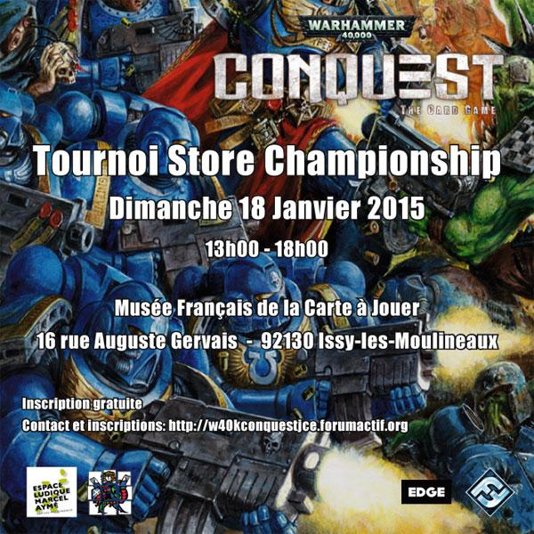 [Paris - Issy] Tournoi Store Championship 18 janvier - Musée de la carte à jouer Tourno10