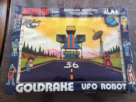 Tombola Spaziale Magnetica - ATLAS UFO ROBOT GOLDRAKE - Boreado # ANCORA SIGILLATA !!! 10403010
