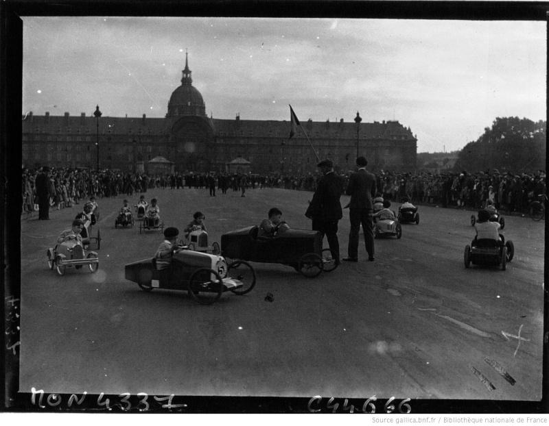 Championnats de jouets sportifs 1932 - (voitures à pédales) Champi10