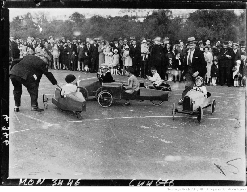 Championnats de jouets sportifs 1932 - (voitures à pédales) Champi11