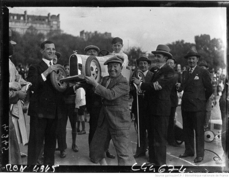 Championnats de jouets sportifs 1932 - (voitures à pédales) Champi12