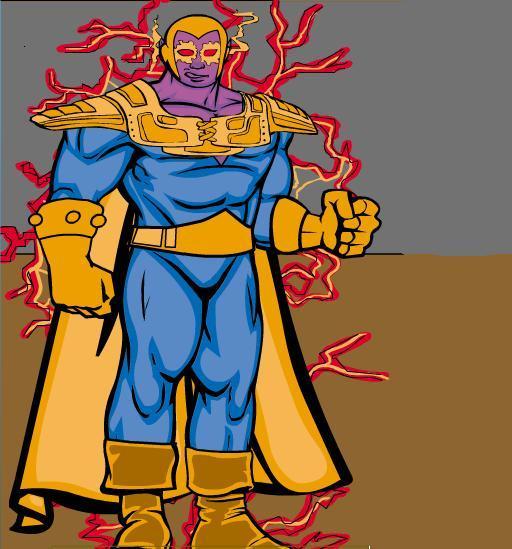 CREA TU PROPIO SUPERHEROE Thanos10