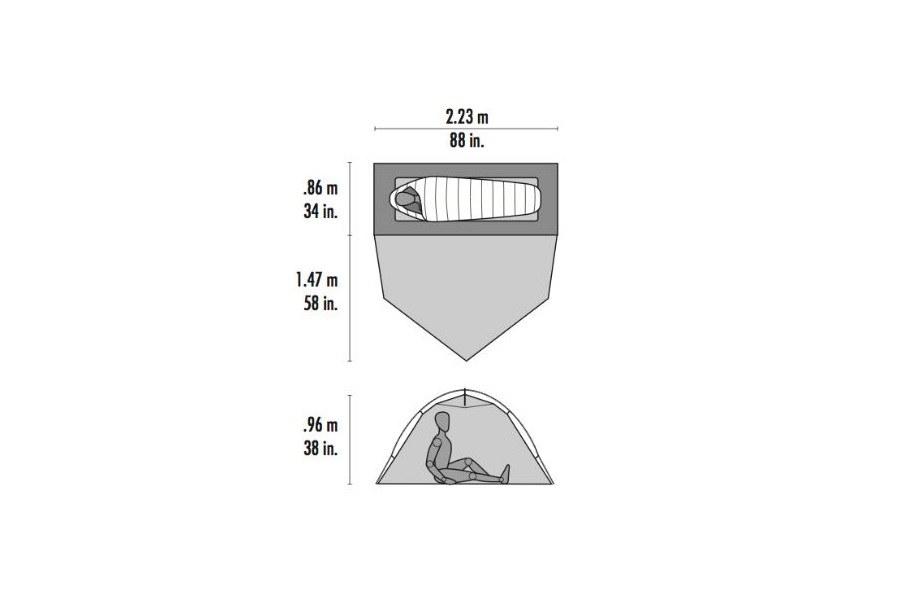 [VENDS] Tente MSR HUBBA TOUR1 Tente-10