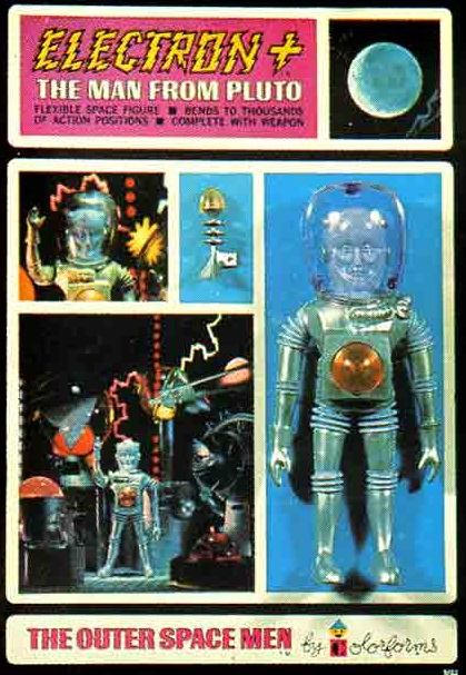 THE OUTER SPACE MEN (Colorforms) 1969 0213