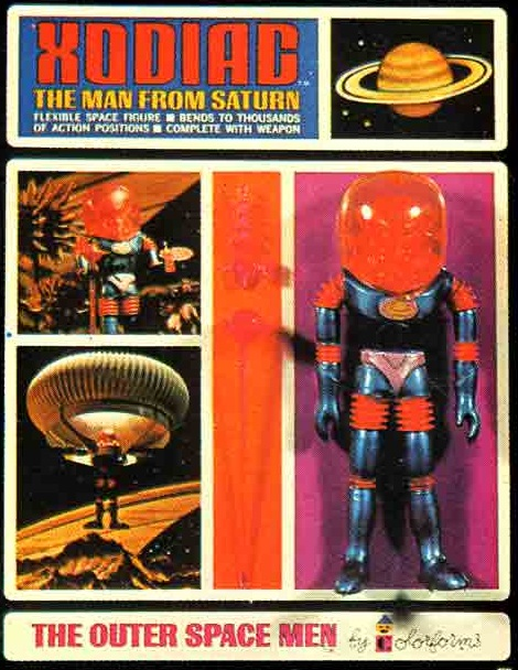 THE OUTER SPACE MEN (Colorforms) 1969 0314