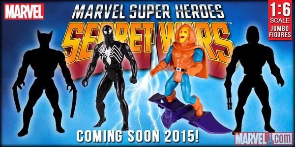 Marvel Secret wars en 12 pouces par Gentle giants 0410