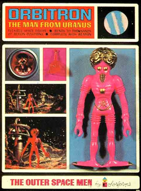 THE OUTER SPACE MEN (Colorforms) 1969 0413