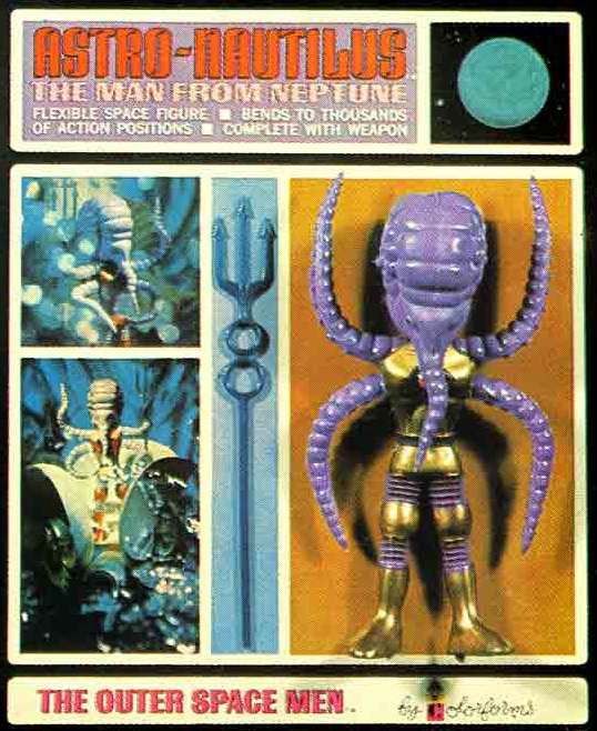 THE OUTER SPACE MEN (Colorforms) 1969 0612