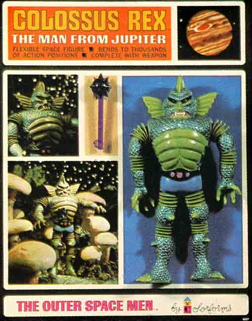 THE OUTER SPACE MEN (Colorforms) 1969 0712