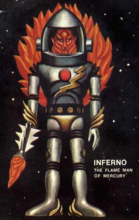 THE OUTER SPACE MEN (Colorforms) 1969 08e10