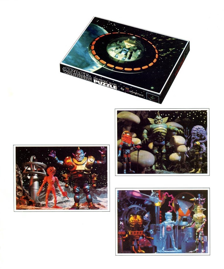 THE OUTER SPACE MEN (Colorforms) 1969 1112