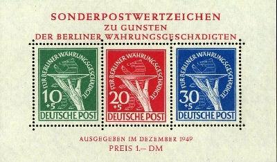 Briefmarkenblocks der Deutschen Bundespost Berlin Bild1510
