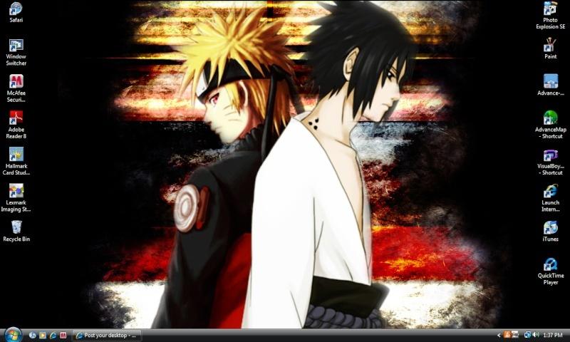 Post your desktop Naruto10