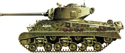 Sherman II (M4A1) M411