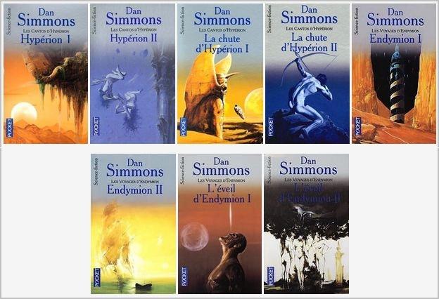 Les Cantos d'Hypérion par Dan Simmons  Les-ca10