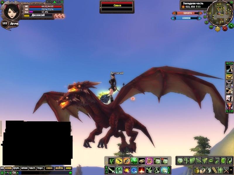 Сервер PW 800х и все что есть в оригинальной игре Dragon11