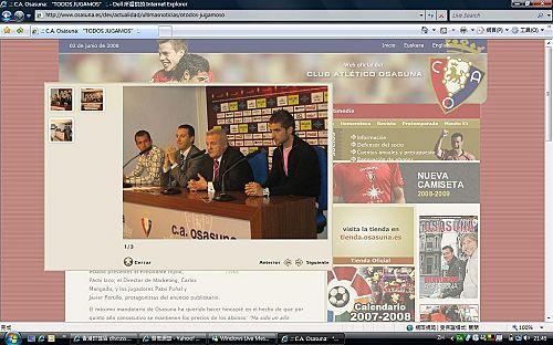 Javi' press conference wif Osasuna core Ap_20011