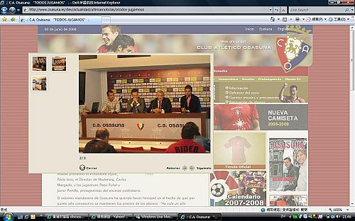Javi' press conference wif Osasuna core Ap_20012