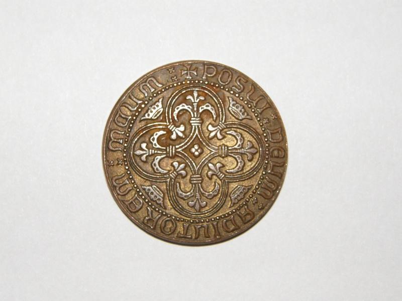 ¿Reproducción de un escudo de oro de Luis XIII? P1010513