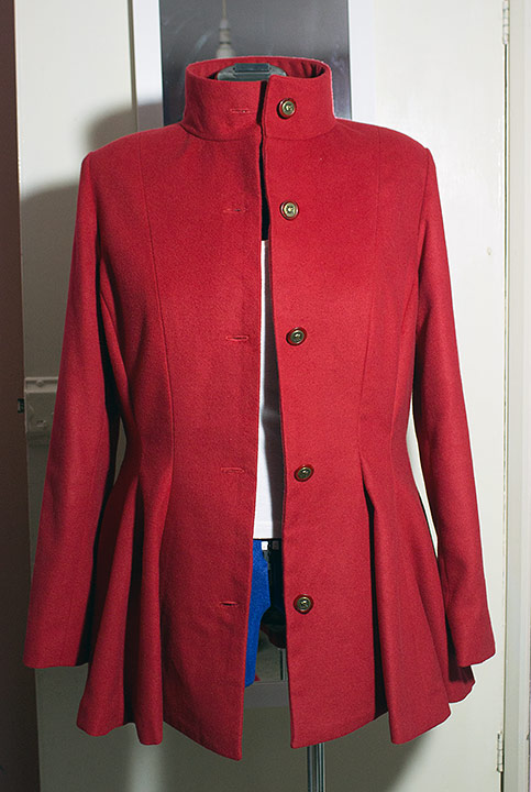 Red coat/jacket Red-111