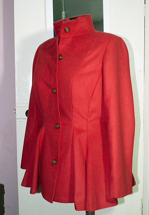 Red coat/jacket Red-211