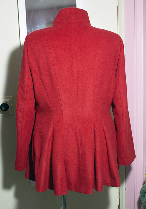 Red coat/jacket Red-311