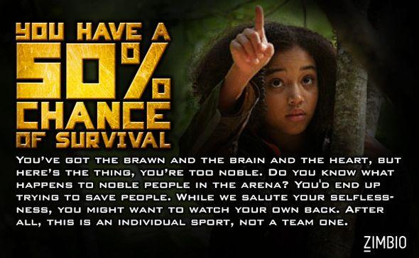 Survivriez-vous aux Hunger Games ? [Test] Rue10