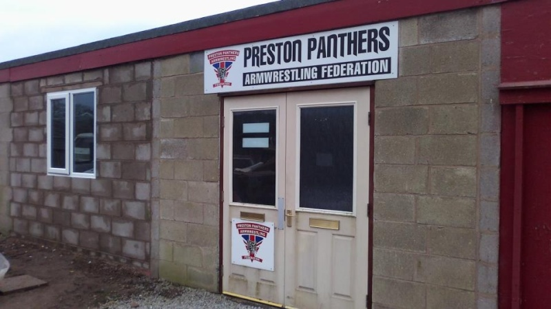 preston panthers armwrestling club Colin10