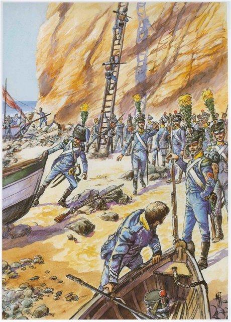 Carabinier Du 2 eme Regiment etranger Isembourg 1806  86af1510
