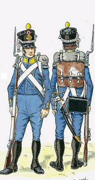 Carabinier Du 2 eme Regiment etranger Isembourg 1806  B_copp10