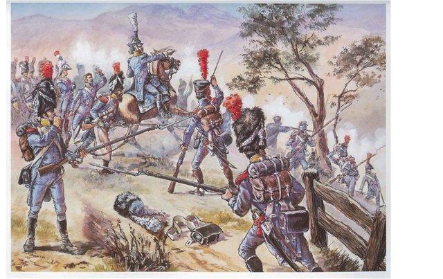 Carabinier Du 2 eme Regiment etranger Isembourg 1806  Df2e0a10