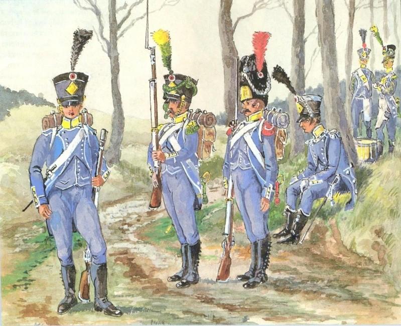 Carabinier Du 2 eme Regiment etranger Isembourg 1806  Numris10