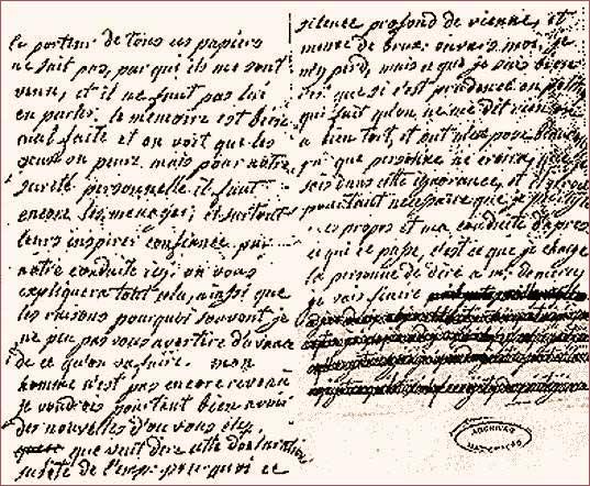 La correspondance de Marie-Antoinette et Fersen : lettres, lettres chiffrées et mots raturés - Page 15 04017910