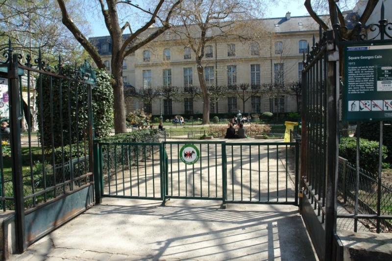 Le Square Georges Cain, à Paris 111