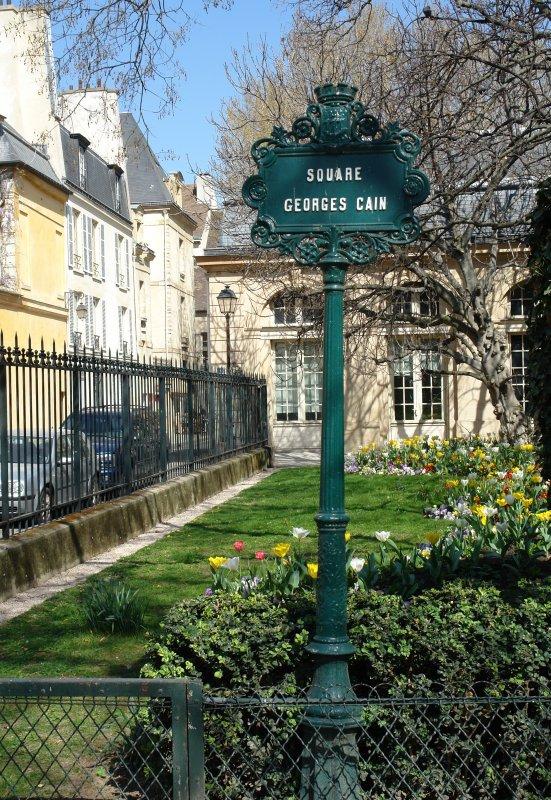 Le Square Georges Cain, à Paris 211