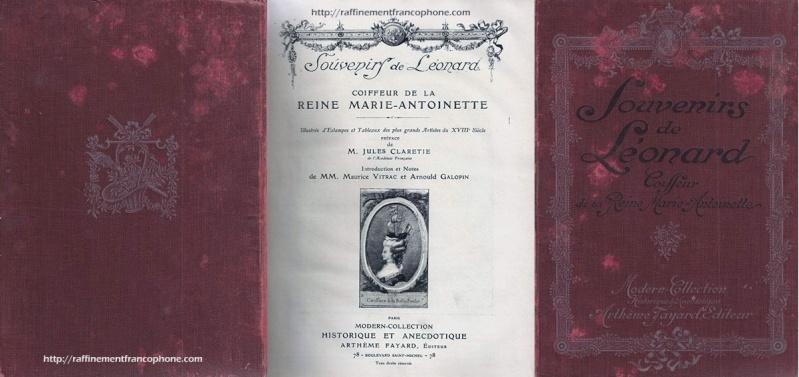 Léonard Autié coiffeur de Marie-Antoinette Souven10
