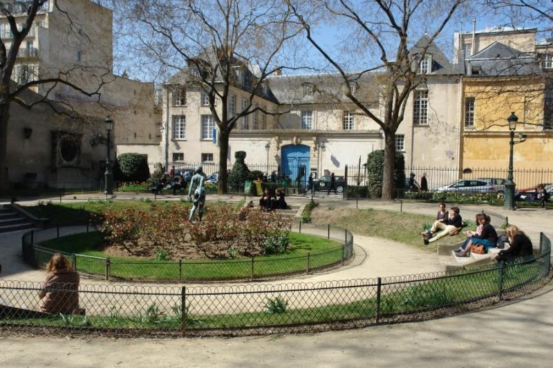 Le Square Georges Cain, à Paris Sq_cai11