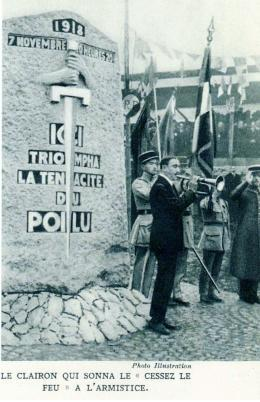 (N°93)Dimanche 11 novembre 2018 à Bages dans le département des Pyrénées-Orientales : commémoration du 100ème anniversaire de l'Armistice du 11-Novembre 1918… et hommage à tous les militaires Français morts pour la France . (Photos de Raphaël ALVAREZ ) Clairo10