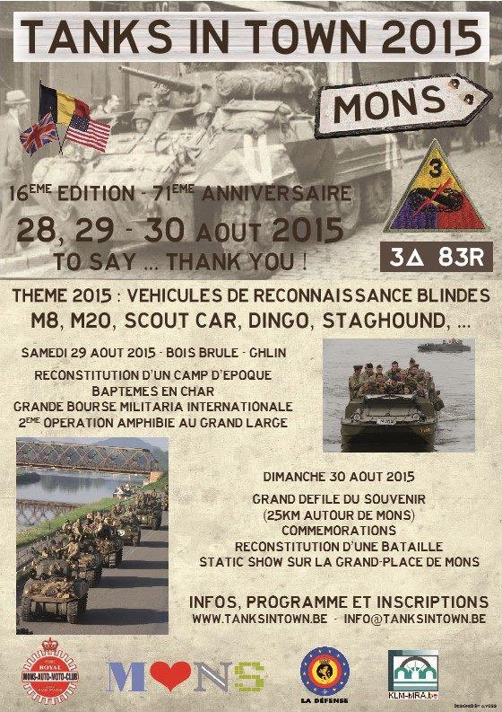 Tanks In Town  - 28 au 30 auoût 2015 1_affi10