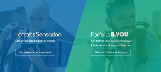 Le nouveau visage du site de Bouygues Telecom est en ligne ! Fofait10