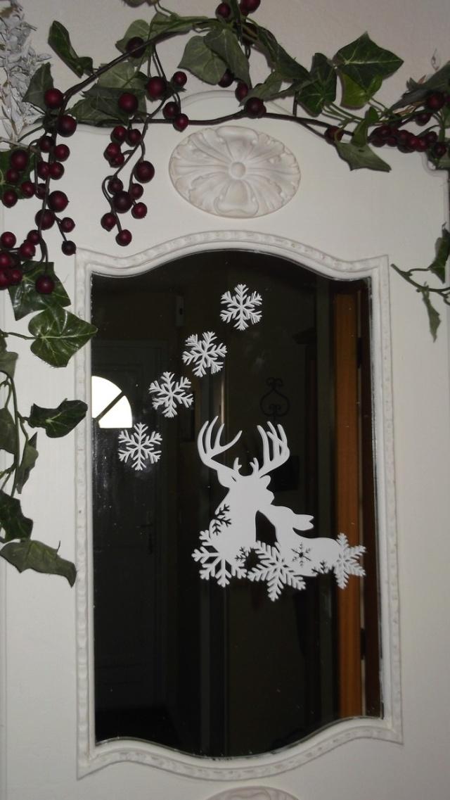 Décos de Noel côté miroirs chez Pat Dycos_16