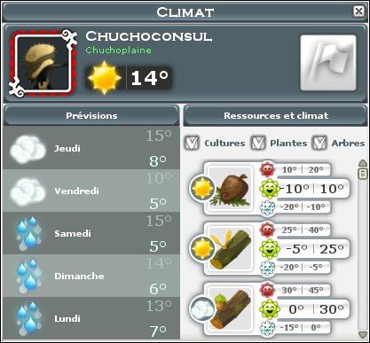 [Ecosystème] La Météo Climat10