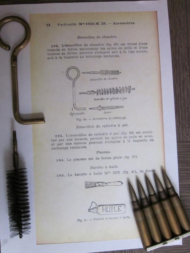 Le Fusil-Mitrailleur de Châtellerault Mle 1924 M29 et accesoires Img_7939