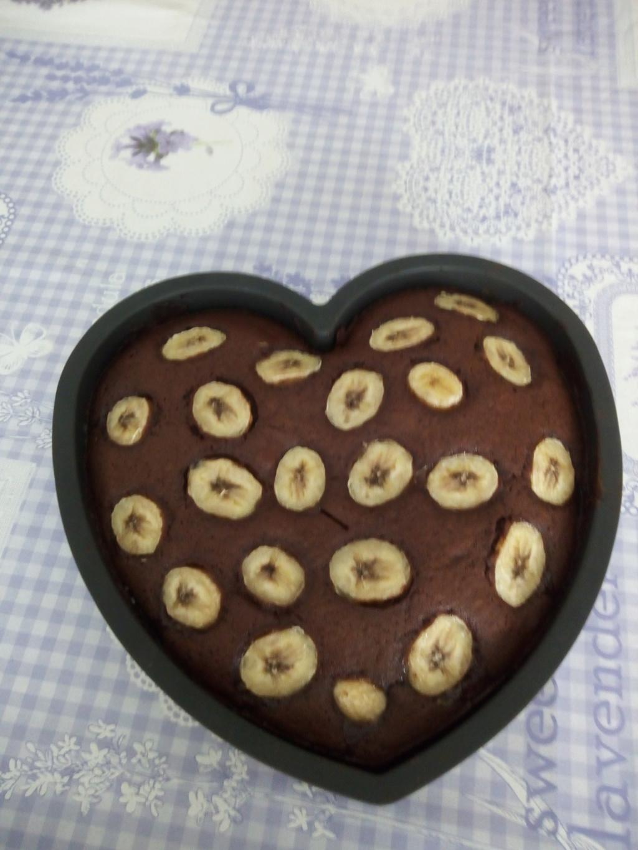 Gateau rapide chocolat banane Gateau10
