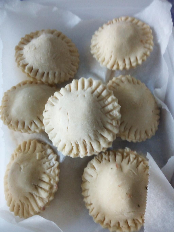 Petits pâtés au jambon de Noël Jambon12