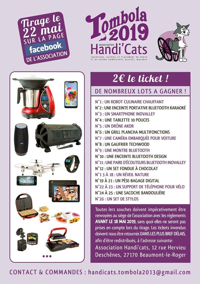 TOMBOLA 2019 ! 2 € le ticket 56236111