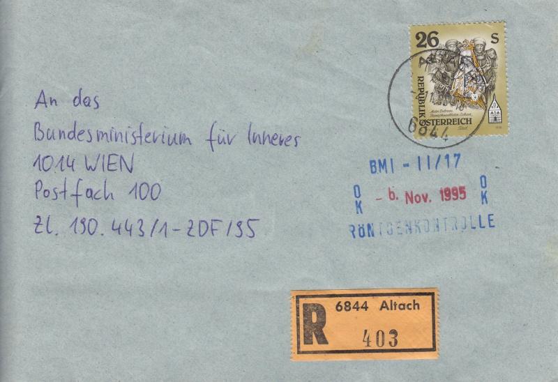 Postüberwachung mit Röntgenscannern  Img24