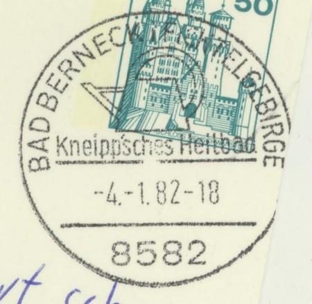 1945 - Ortswerbestempel - Deutschland nach 1945 (Handstempel) Bad_be10